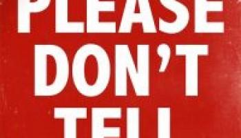 PLEASE DON'T TELL – Jimmy Woo – 12 Maart