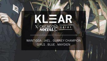 28 jan / Klear / Chicago Social Club